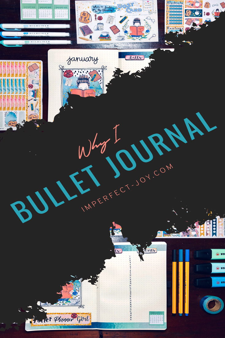 So why do I bullet journal?  Learning to stay organized in this crazy life while following God's plan is tough.  My Bujo makes it easier for me. @imperfectjoyblog #stayingtrue #staytruetoGod #faith #trust #joy #imperfectjoy #christianblog #proverbs31woman #journeytojoy #followingmypath #bulletjournal #bujo #bulletjournalinspiration #bulletjournalideas #lemome #dingbats #americancrafts