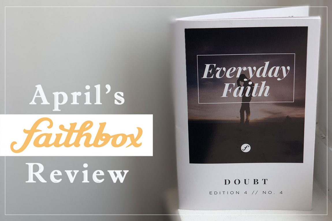 Aprils Faithbox Review